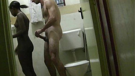 Homemade african hooker interracial sex